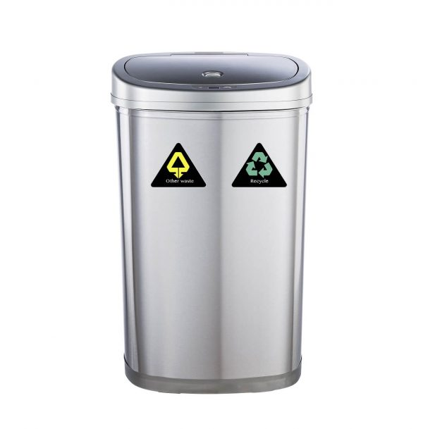 Cesto automático para residuos y reciclables DZT 50-22R - basura